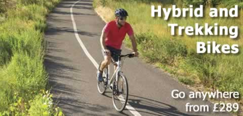 Hybrids, go anywhere from £289
